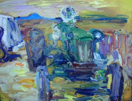 Deere painting