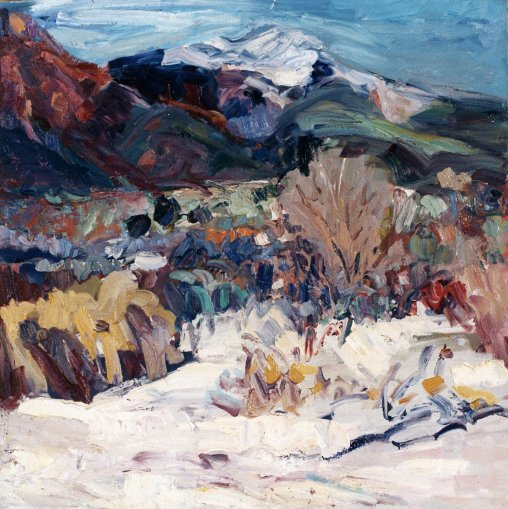 First Snow New Mexico 30x30